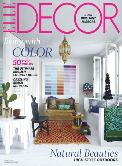 Elle decor us magazine on magpile for Elle deco magazine