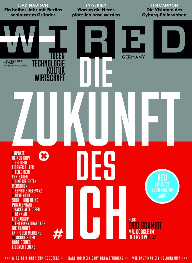 Wired Germany, November 2014, #4 on Magpile