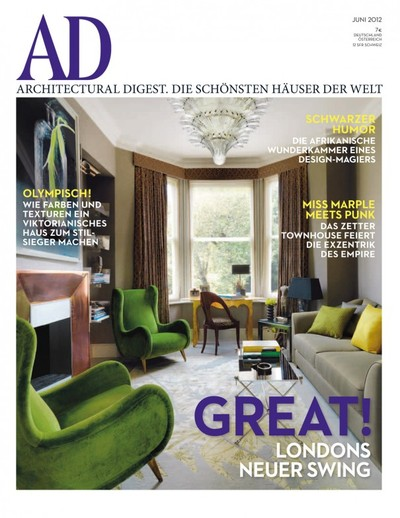 ad architectural digest germany magazine on magpile. Black Bedroom Furniture Sets. Home Design Ideas