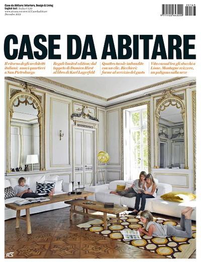 Case da abitare december 2012 163 on magpile for Riviste interior design