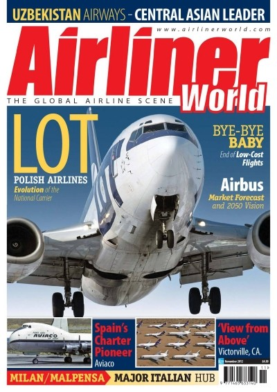 Airliner World Magazine Airliner World